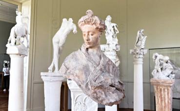 Rodin, divers sculptures. Photo (c) Charlotte Service-Longépé