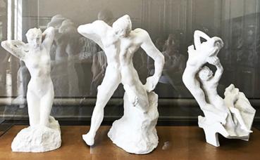 Rodin et la danse, plâtres. Photo (c) Charlotte Service-Longépé