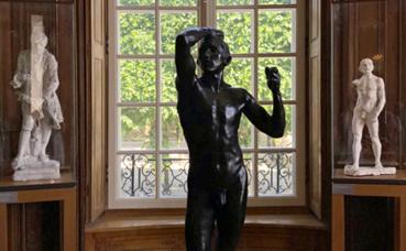 Rodin, Sculptures au Musée Biron. Photo (c) Charlotte Service-Longépé