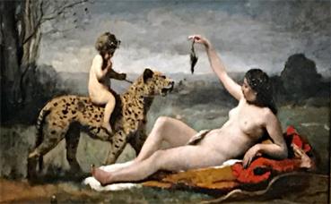 Corot, Bacchante. Photo (c) Charlotte Service-Longépé