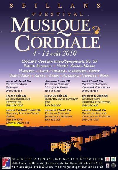 Festival MUSIQUE CORDIALE