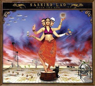 L'album «Open The Box» de Sashird Lao. Cliquez sur l'image pour commander le cd sur amazon.fr