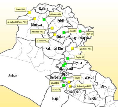 Le système de soins de santé en Irak