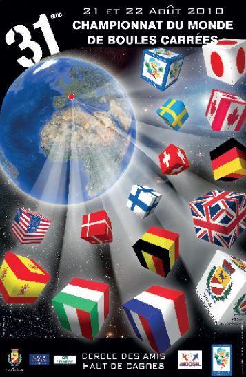 31e championnat du monde de boules carr es for Championnat du monde de boules carrees