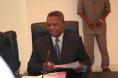 Tertius Zongo, Premier ministre (c) SAMA