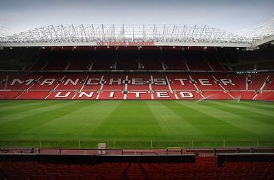 Old Trafford, surnom donné au stade de Manchester United. Photo (c) André Zahn