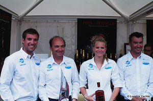 Longtze European Tour: Wet Feet remporte la Semaine de Cowes