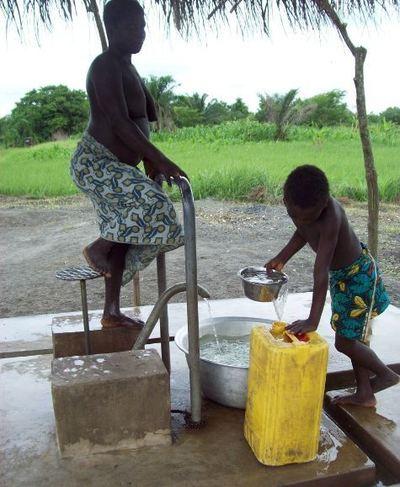 Un ouvrage d'approvisionnement en eau potable réalisé dans un village de la commune de Nikki (photo Le Municipal)
