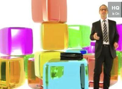 Capture d'écran d'une vidéo 'promo publicitaire' conçue de façon originale