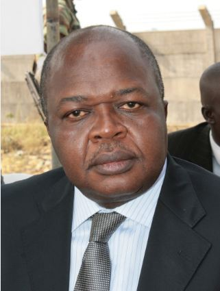 Grégoire Akoffodji, ministre béninois de la Justice. (Crédits Photo: Polycarpe TOVIHO)