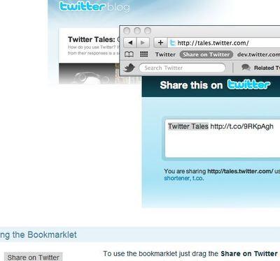Partager sur Twitter ses pages en un clic
