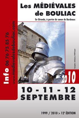 La 12e édition des Médiévales de BOULIAC