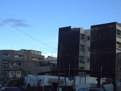 Des immeubles de la Médina. Photo (c) Elhadji Babacar MBENGUE