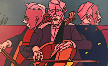 Valerio Adami, Il colore della musica. Photo (c) Charlotte Service-Longépé