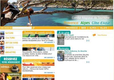 Cliquez sur l'image pour consulter le site touristique de la région