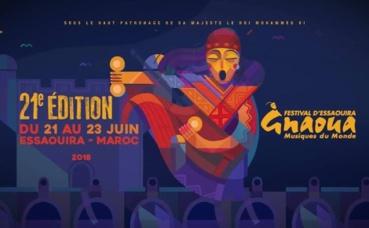 L'affiche de la 21e édition, publiée sur la page Facebook officielle du festival. Cliquez ici pour y accéder