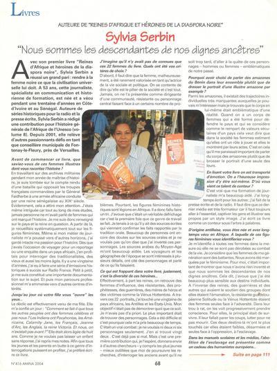 il y a des femmes savantes qui font honneur à la profession et au genre (source Amina)