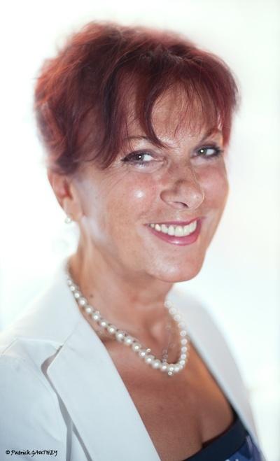 Denia Mazzola Gavazzeni, photo prise lors du déjeuner de presse le 1er septembre 2010