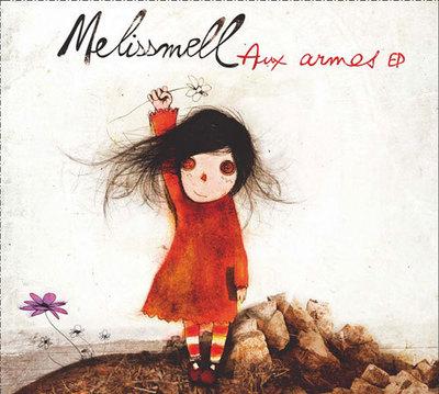 Melissmell, voix cassée de la chanson française