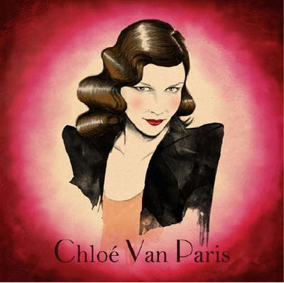 Chloé Van Paris, soirée à la Nouvelle Eve le 1er octobre
