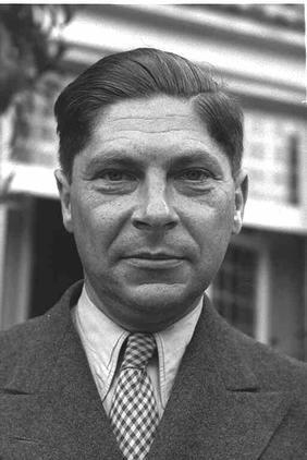 Photo d'Arthur Koestler par Pinn Hans, 1948