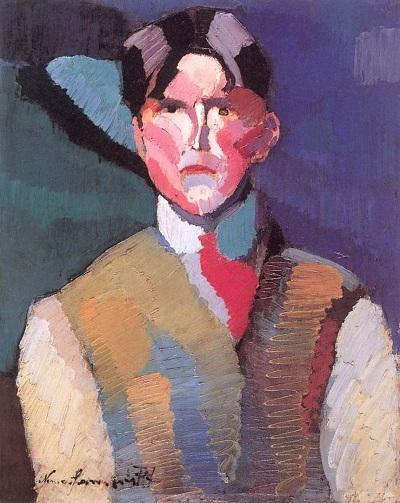 Nemes Lampérth József, autoportrait, 1911