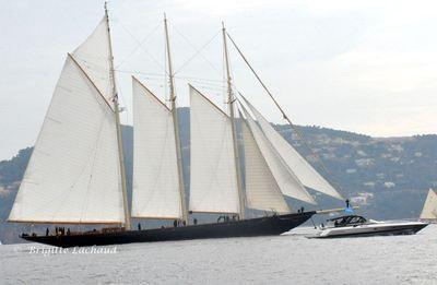 La célèbre goélette Atlantic 1905 69,24m