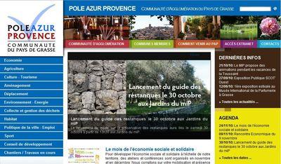 Site de Pole Azur Provence (c.)