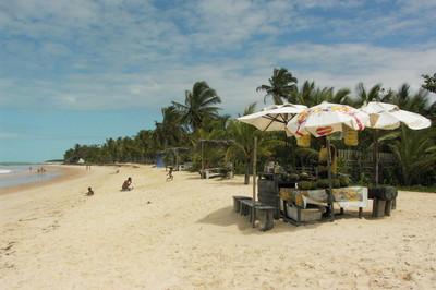 Vendeur local de Trancoso au Brésil AH (c.)
