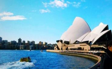 L'Opera de Sydney. Photo prise par Sarah Barreiros.