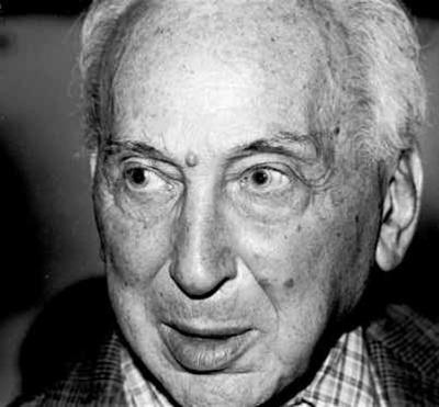 André Kertesz à la Bibliothèque publique de New York, 1982