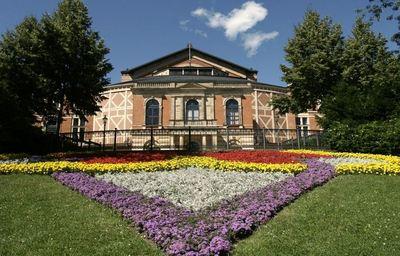 Palais des Festivals à Bayreuth, photo de Rico Neitzel le 16 juillet 2006