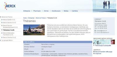 Site de Theramex