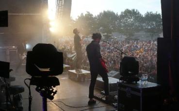Kyo en concert à Malestroit le 4 août 2018. Photo (c) Arnaud Gicquello