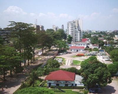 Le district de Gombe à Kinshasa. Photo (c) VBerger