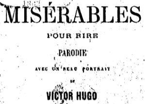 LIVRES AUDIO - Les Misérables pour rire 1.