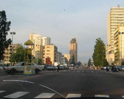 Rue de Bandalungwa. Photo du domaine public.