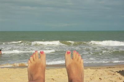 Les pieds dans l'eau (c) AH