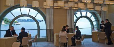 La rencontre du corps diplomatique et des entrepreneurs monégasques. Photo courtoisie.