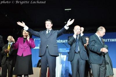 CHRISTIAN ESTROSI REELU PRESIDENT DE LA FEDERATION UMP 06