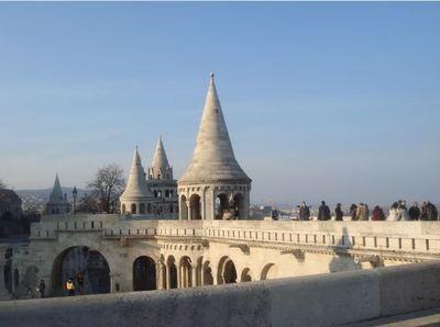 Bastion des pêcheurs à Budapest, photo du 17 mars 2003 (c)