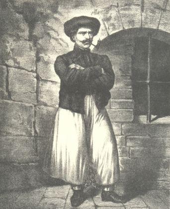 Sándor Rózsa à la prison de Theresienstadt