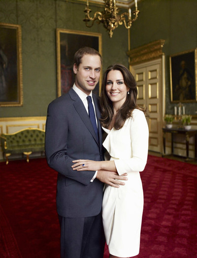La photo officielle du couple princier d'Angleterre (c) Mario Testino / Palais St James