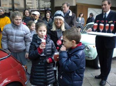 Cocktail Nez Rouges au Fairmont Monte-Carlo. Photo courtoisie.