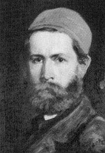 Autoportrait de Károly Lotz en 1870