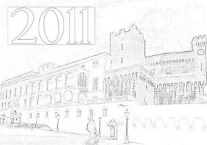 Illustration par notre équipe. Cliquez sur l'image pour lire les voeux du Prince Albert II.