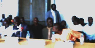 La rencontre a été fructueuse entre le président Wade et les agents de la société de transport Dakar Dem Dikk (c) E. B. Mbengue