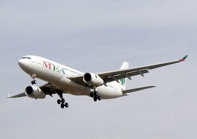 Un avion de Middle East Airlines. Photo (c) Adrian Pingstone.