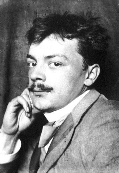 Koloman Moser, photographie de 1905