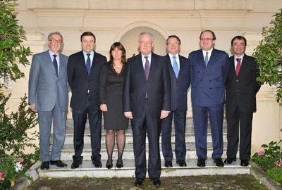 Le nouveau gouvernement monégasque. Photo (c) Charly Gallo / CDP